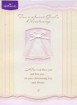 Baby Christening Card Baby Girl Dress
