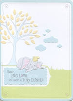Baby Card Little Dumbo