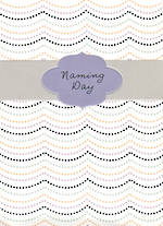 Baby Card Naming Day Hallmark Dots