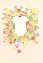 Baby Card Colourful Dots