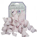 Bow Curl Cascade Fabric Baby Pink