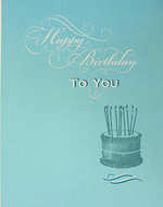 Jumbo Card: Hallmark Colossal Birthday Cake