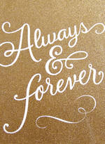 Jumbo Card Hallmark Colossal Wedding Always & Forever
