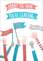 Jumbo Card Hallmark Colossal Goodbye Arms