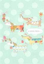 Hangsell Hallmark Value Blank Dogs
