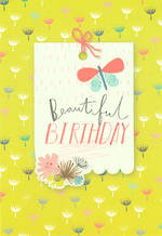 Hangsell Hallmark Value Birthday Female Beautiful