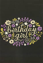 Hangsell Hallmark Value Birthday Female Birthday Girl