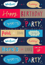 Hangsell Hallmark Value Birthday Male Cheers