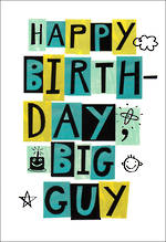 Hangsell Hallmark Value Birthday Male Big Guy
