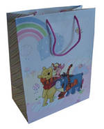 Large Gift Bag Juvenile Girl Winnie The Pooh