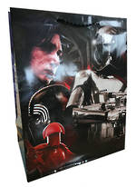 Large Gift Bag Star Wars Rey Han & Kylo