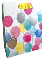 Medium Gift Bag Female Balloons