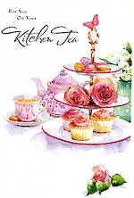 Kitchen Tea Card Cake Stand
