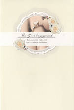 Engagement Card Hallmark Ring Diamantes