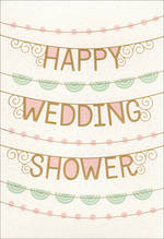 Bridal Shower Card Hallmark Wedding Shower