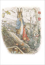 Mini Card Beatrix Potter Minis Peter Garden