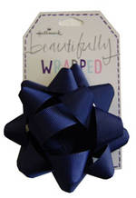 Bow Fabric Dark Blue