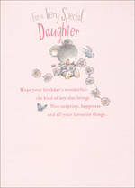 Daughter Birthday Card Hallmark Dylan & Friends
