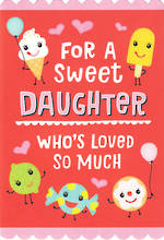 Daughter Birthday Card Hallmark Large Sweet