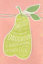 Daughter Birthday Card Hallmark Pear Sweetest Part