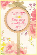 Daughter Birthday Card Hallmark Beautifully You