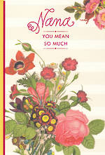 Grandmother Birthday Card Hallmark Nana Mean So Much