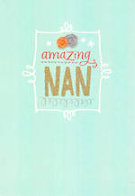 Grandmother Birthday Card Hallmark Nan Amazing