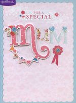 Mum Birthday Card For A Special Mum