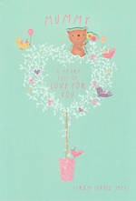 Mum Birthday Card Hallmark Mummy Tree Heart