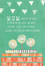 Mum Birthday Card Hallmark Kind