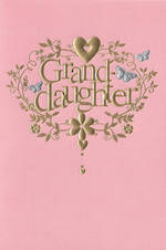 Grandaughter Birthday Card Hallmark Pink