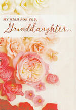 Grandaughter Birthday Card Hallmark Flowers