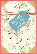 Sister Birthday Card Hallmark Life Sweet