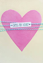 Sister Birthday Card Hallmark Cross Heart