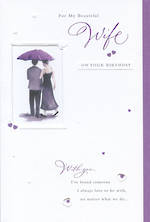 Wife Birthday Card With You
