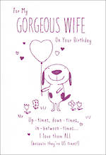 Wife Birthday Card Hallmark Us Times