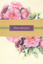 Hallmark Female Birthday Card Flowers