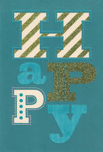 Hallmark Male Birthday Card Happy