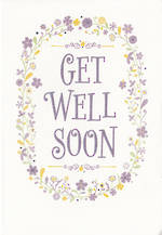 Get Well Card Floral