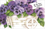 Get Well Card Hallmark Pansies