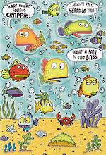 Get Well Card Hallmark Large Fish In Sea
