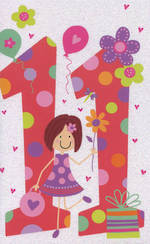Hallmark Value Age 11 Girl Pink