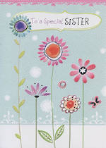 Hallmark Value: Birthday Sister Flowers
