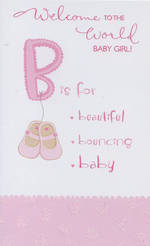 Hallmark Value: Baby Girl Pink Boots