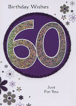 Hallmark Value Age 60 Female Purple