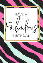 Happy By Hallmark Fabulous Birthday