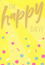 Happy By Hallmark Oh Happy Day
