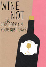 Happy By Hallmark Birthday Wine Not