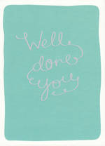 Congratulations Card: Hotpress Well Done You