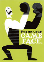 Hallmark Humorous Birthday Card: Game Face